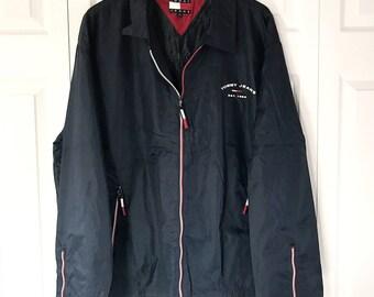 90s Tommy Hilfiger Windbreaker Jacket XL