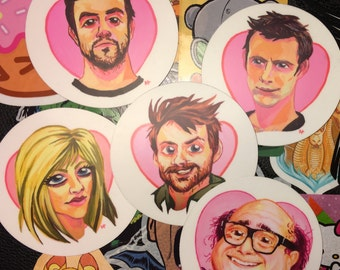 Its Always Sunny In Philadelphia Sticker Pack