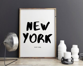 New York Print, Poster for office decor, gifts, city poster, city prints, New York city Prints, art, Wall Art, Art