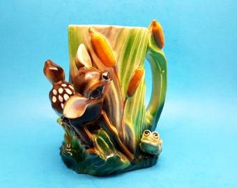 Vintage Bambi Mug or Vase