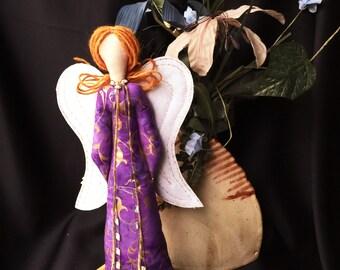 Guardian Angel Spirit, Cloth angel art doll,  Spiritual Doll, Art Doll, OOAK Angel doll. Angel art doll, Religious decor, Spirt Doll #5