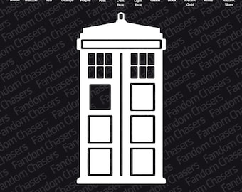 Doctor Who Tardis, Logos, Dalek & K-9 Decals
