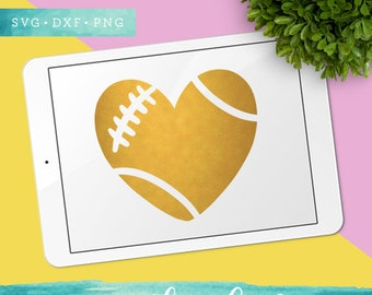 Football Svg / Football Heart SVG Cutting Files / Game Day SVG Files Sayings / Football Mom SVG for Cricut Silhouette / Svg Cut Files