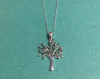 Tree of Life Pendant - Handmade sterling silver
