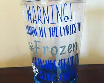 Frozen Inspired Tumbler