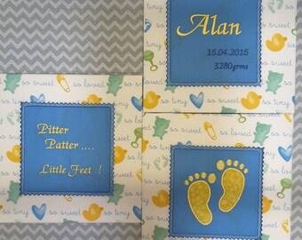 Baby Applique Machine Embroidery Design Quilt Blocks