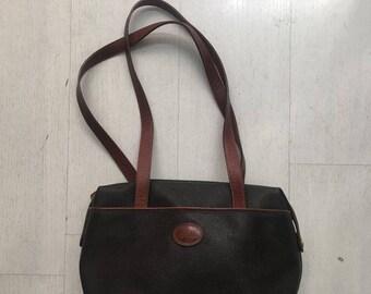 Les Compais vintage brown leather