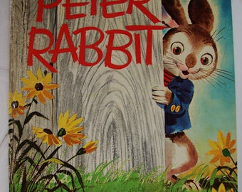 Peter Rabbit – A Whitman Giant Tell-A-Tale Book