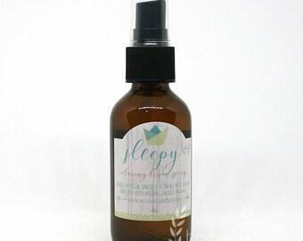 Sleepy Spray - Organic // Relaxation Spray // Calming Spray // Linen Spray // Room Spray // Dream Spray // Pamper gift