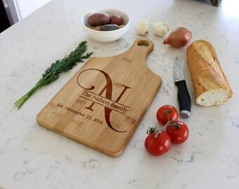 Custom Cheese Board, Custom Paddle Board, Personalized Cheese Board, Engraved Cheese Board, Custom cutting board --CB-PAD-NELSON