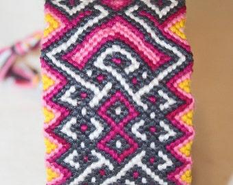 Pink Celtic Knots Friendship Bracelet