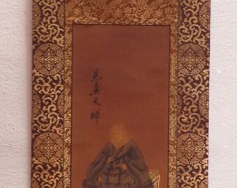 Shinran- shounin Kakejiku       about 100 years ago of kakejiku     Artist by Shounyo