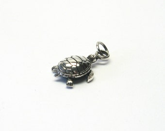 Turtle Jewelry Pendant silver 925 turtle