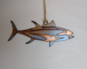 Yellowfin Tuna Ornament