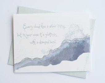 Silver Lining | Congratulations | Friendship Card