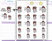 Mimi - Exercise Stretches, Work on Those Arms and Legs Planner Stickers