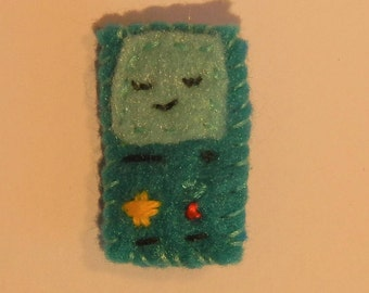 BMO adventure time pin badge brooch Gameboy