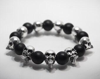 Bracelet death's head / Skull Bracelet Pk01