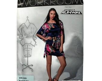 2000 Sewing Pattern - New Look 6051 - Kimono Dress