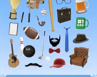 Father Day Clipart, Daddy Day Clip Art, Father Day Image, Best Dad Ever Graphic, Best Daddy PNG, Fathers Day Scrapbook, Digital Download
