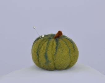 GREEN ZEBRA Heirloom Tomato Pin Cushion