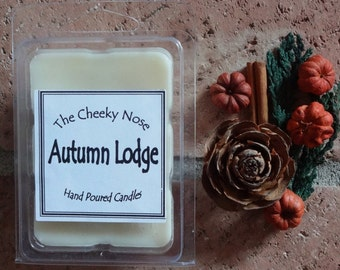 Autumn Lodge Melts, Soy Melts, Soy Wax Melts, Soy Tarts, Pipe Tarts, Fall Wax Melts, Man Wax Melts, Scented Wax Melts, Scented Soy Melts