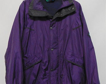Vintage Purple Ski Jacket