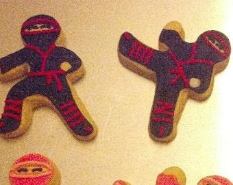 Ninja Cookies - sold by the dozen