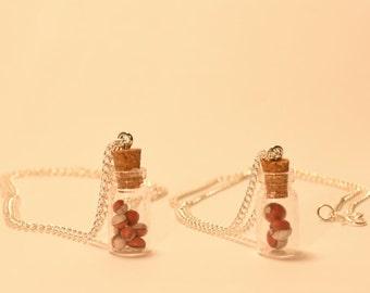 Pokeball - Bottle Necklace