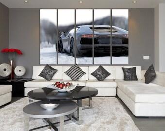 Lamborghini canvas Lamborghini poster Lamborghini Aventador Lamborghini print Lamborghini Art Lamborghini Wall Art Top Gear Sport Cars Print