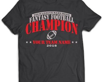 Fantasy football etsy for Fantasy football league champion shirt