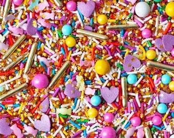 Party Monster Blend, Neon Rainbow Sprinkles, Candy Sprinkles, Crunchy Sprinkles, Glitter Sprinkles, Fancy Sprinkles