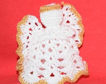 Hand made crochet angel