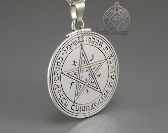 Amulet Talisman Seal Pentacle of Venus of King Solomon, 2 sides & 2 Seals. Activation SPELL optional