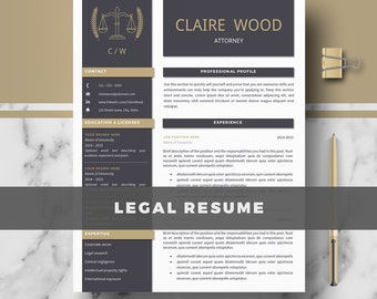 Training Manager Resume Excel Instant Resume  Etsy Business Skills For Resume Excel with Resume Outline Template Word Attorney Resume Template  Lawyer Resume  Legal Resume Cv  Resume   Cover Letter Independent Contractor Resume Excel