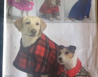Vogue 8312 Dog Coat Sewing Pattern, OOP