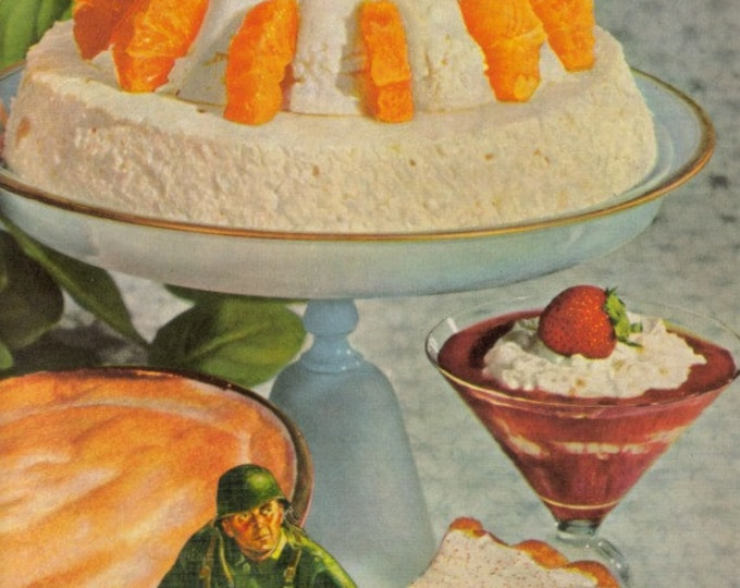 Battle of the Bulge, Food Art Collage