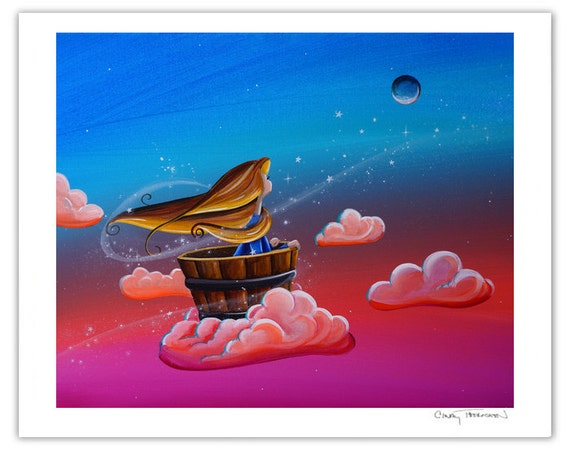 Dreamer Series Limited Edition - Let The Stars Take You There - Signed 8x10 Semi Gloss Print (2/10)