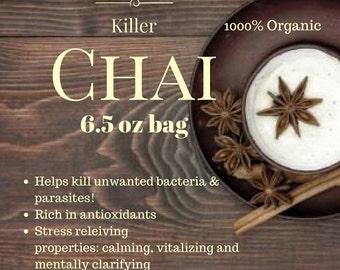 Organic • FairTrade • Traditional Killer Chai