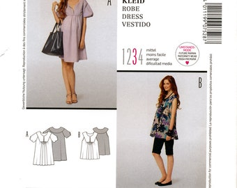 Burda Style 7528 Sewing Pattern for Misses' Dress - Uncut - Size 10, 12, 14, 16, 18, 20, 22