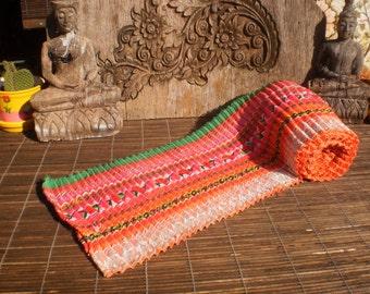 Vintage Textile Hand Embroidered Hmong Skirt Bands, Tribal Embroidery , Vintage Skirt, Vintage Hmong