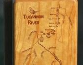 TUCANNON RIVER MAP Fly Bo...