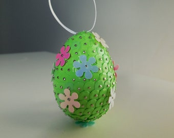 Flower Sequin Egg (S,M,L)