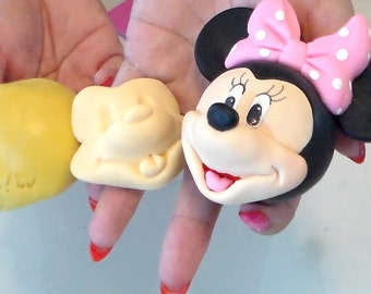 Mickey Mouse Face Silicone Mold