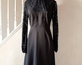 Gothic/Steampunk Edwardian Governess Style Dress