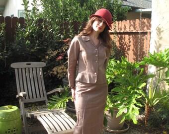 40's-50's women's suit