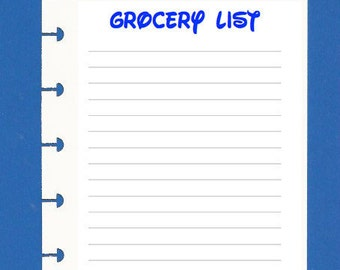 Grocery List (set of 12)