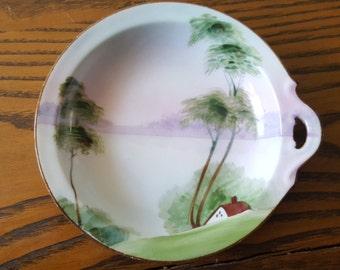 Vintage Hand painted Nippon plate.