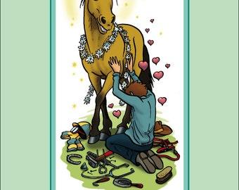 CALENDAR 2017 equestrian humor