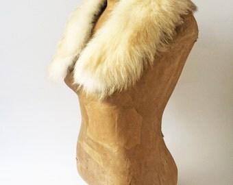 Wedding Fur Stole, Wedding Fox Stole, Bridal Fur Stole, Bridal Fox Stole, Vintage Fur Stole, Vintage Fox Stole, Fur Collar, Fox Fur Collar